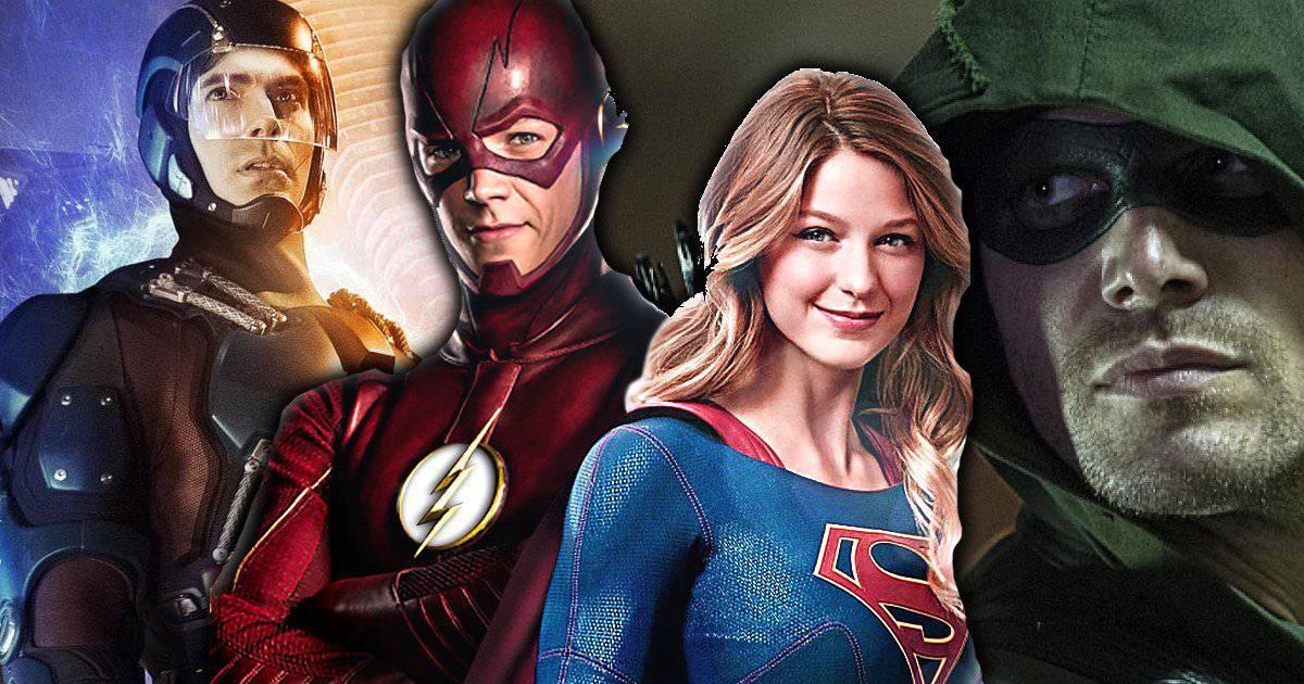 Resultado de imagem para flash arrow super girl the