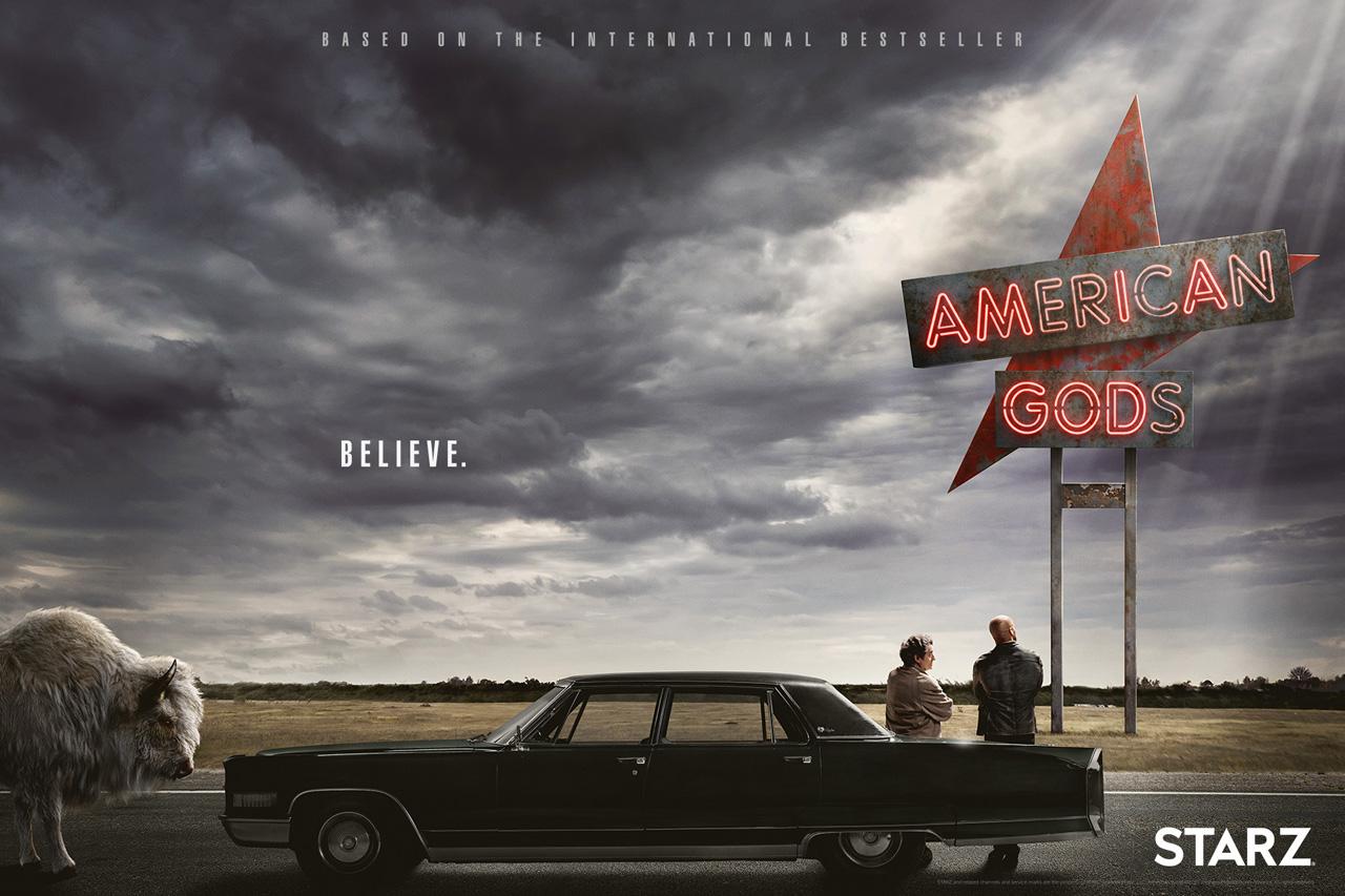American Gods, uma série ambiciosa, violenta e surpreendente, pode causar um pouco de estranheza ao público da TV, mas é uma grande aposta para exibição em stream