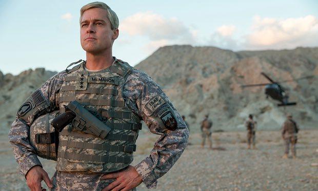 Brad Pitt é o protagonista de War Machine, primeira produção do ator exclusivamente para a Netflix